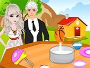 Elsa Princess Wedding Cake