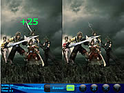 Elven sword. Spot the difference
