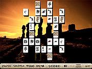 Enigmatic Statues Mahjong