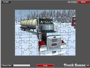 Extreme Truckers Puzzle Game