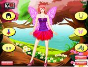Fairy In The Colored Forest