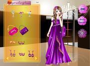Fashion Purple Dress
