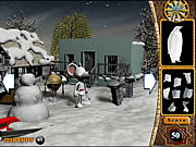 Find the Object in Snowy Land