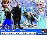 Frozen Hidden Letters