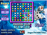 Frozen Olaf Bejeweled