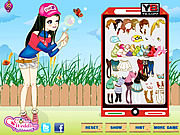 Play Fun Bubble Girl Dressup
