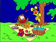 Play Garfield Online Coloring