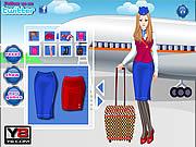 Glamorous Air Hostess