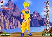 Goku Dressup Game