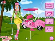 Golf Barbie