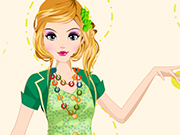 Green Elf Dressup