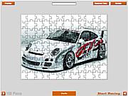 GT Cup Puzzle Car