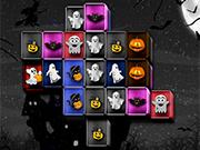 Halloween Mahjong Connect Game