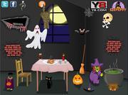 Halloween Party Room Decor