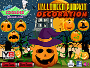Halloween Pumpkin Decoration Game
