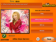 Hannah Montana Quiz