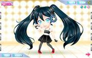 Hatsune Miku dress up game
