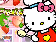 Hello Kitty Cut Fruit
