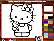 Hello Kitty Kids Coloring