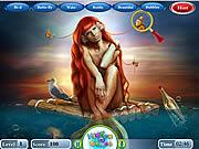 Hidden Letters Fantasy Mermaid