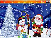 Hidden Numbers Santa Claus