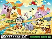 Hidden Numbers Zoo
