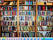Hidden Pencil Bookshelf