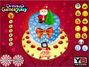 Homemade Christmas Cake 2013 Decor
