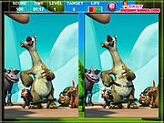 Ice Age The MeltDown Spot The Difference