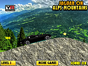 Jaguar on Alps Mountain