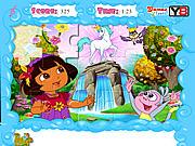 Jolly Jigsaw Puzzle - Dora the Explorer