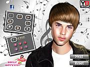 Justin Bieber Makeover-Game