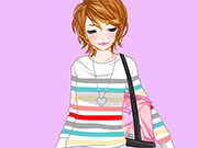 Play Lidia College Dressup
