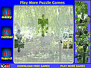 Lilies lake Jigsaw Puzzle