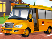 Play Locked School Bus Girl Escape