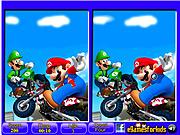 Mario - 6 Differences