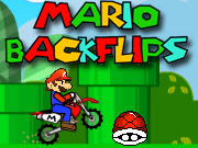 Mario Backflips