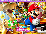 Mario Hidden Letters