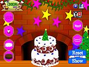 Marry Christmas Cake Decoration