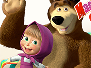 Masha And Bear Candy Shoo…