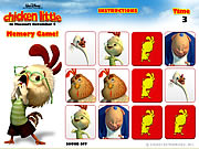 Chicken Little - Memory Game