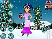 Merry Christmas Girl Dress Up