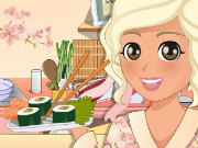 Play Mia Cooking Sushi