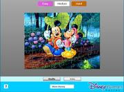 Mickey and Minnie Jigsaw