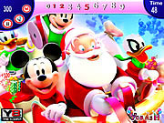 Mickey and Santa Christma…
