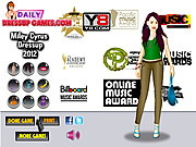Miley Cyrus Dress Up 2012