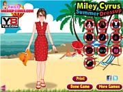 Miley Cyrus Dressup Game