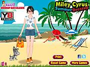 Miley Cyrus Summer Dressup
