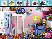 Modern Toys Room Hidden Object