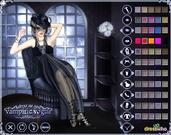 Ms. Dracula - Vampire Dress Up